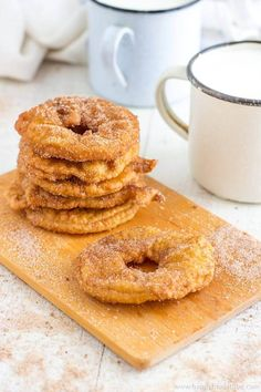 Fried Battered Apple Rings