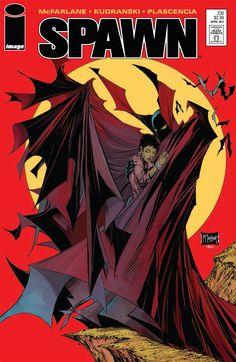 Spawn #230. Cover by Todd McFarlane (After Todd McFarlane / Batman #423).