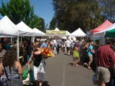 On a busy summer Saturday, as many as 8,500 shoppers head to the Issaquah Farmers Market.