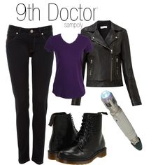"""[DOCTOR WHO] Get the look ! """"Nine / 9th Doctor"""" by sampoly on Polyvore // I would actually wear all that... scratch that. I think I own all that...//"""