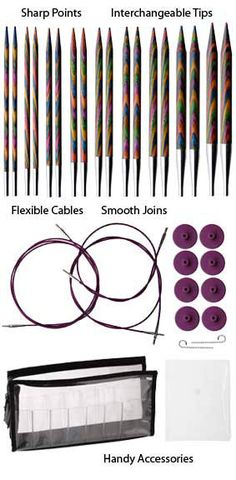 """My new favorite """"toy""""!!! I love these needles & I finally sprang for the whole set:-)"""