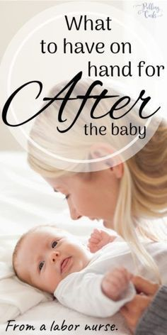 You'll bleed for about weeks after you have your baby -- during the postpartum period. Here is what to have on hand for all your needs after baby. Pregnancy Timeline, Pregnancy Stages, Post Pregnancy, Pregnancy Care, Postpartum Diet, Postpartum Recovery, Baby Book To Read, Labor Nurse, New Parent Advice