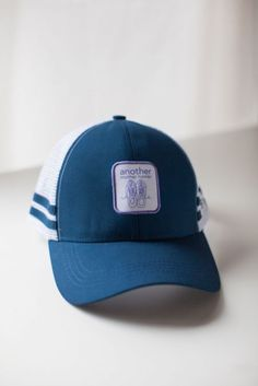 another mother runner technical trucker hat (navy)