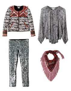 Isabel Marant   H&M Collaboration print pattern