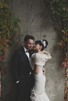 Romantic Fall Wedding in Montreal from Isabelle Paille  Read more - http://www.stylemepretty.com/canada-weddings/quebec/montreal/2013/11/25/romantic-fall-wedding-in-montreal-from-isabelle-paille/