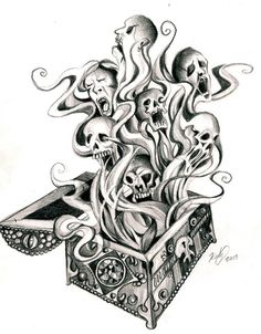 Pandora's Box Tattoo by *Lucky978 on deviantART