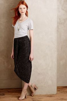 Nona Wrap Maxi Skirt - anthropologie.com
