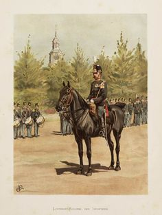 Dutch; Infantry, Lieutenant-Colonel, 1896 by Willem Constantijn Staring