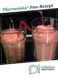 Milchshake von Denise H. Ein Thermomix ® Rezept aus der Kategorie Getränke auf www.rezeptwelt.de, der Thermomix ® Community.