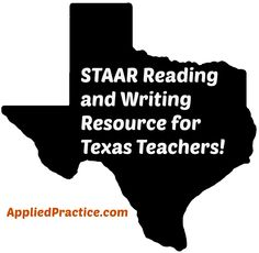 86 best applied practice corner images on pinterest corner staar reading and writing resources for texas teachers with correlation to teks take the fandeluxe Choice Image