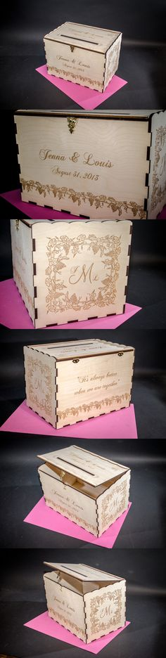 personalized, #Wedding Card Boxes from $109.00