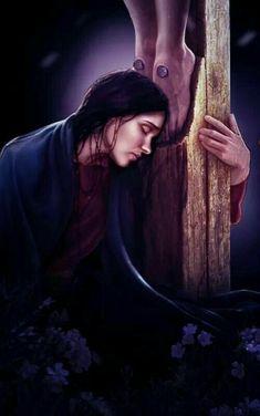 Thank you Jesus Braut Christi, Image Jesus, Pictures Of Christ, Jesus Painting, Jesus Art, Bride Of Christ, Prophetic Art, Mary Magdalene, Catholic Art
