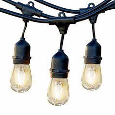 Feit Led String Lights New Feit Led String Lights 48 Ft 26 Led Light Bulbscul Certified 2200K Design Decoration