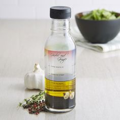 KSP Savoury Salad Dressing Bottle (Clear)