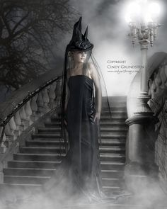 Lonely Witch in the night by Dezzan.deviantart.com