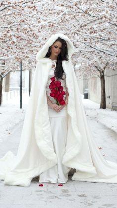 Winter Wedding dresses 2017 best photos - Winter Wedding - cuteweddingideas.com