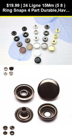 """Rivet Button 3//8/"""" 1//2/"""" 5//8/"""" 10 12 15mm Snap Fasteners Hardware Leather craft KAM"""
