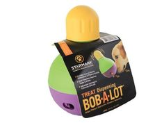 StarMark Bob-A-Lot Interactive Pet Toy: Great for treats and for meal times!