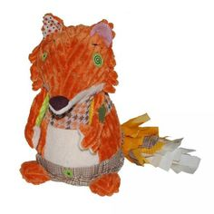 Deglingos Kitschos the Fox - Original Deglingos are made from 50 different kinds of fabric and string, creating a tactile and visual feast! Softies, Articles Pour Enfants, Kinds Of Fabric, Baby Games, Imaginative Play, Pet Gifts, Toddler Toys, Pet Toys, Cuddling