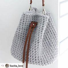 """Идеальная торба по моему PDF мастер-классу #Rensta #Repost: @liucita_love via @renstapp ··· """" Мне очень приятно, что вам так нравится эта модель сумочки! Чем больше я работаю над торбами, тем больше в них влюбляюсь это правда! ♥️ Спасибо моим любимым @bobilon за супер качественную пряжу и фурнитуру Оттенок """"Серый меланж"""" один из наших фаворитов и @i_love_create за прекрасный мастер-класс!!! #сумкаторба #сумка #сумкахарьков #сумкаукраина #сумкаручнойработы #любовь #серыймеланж ..."""
