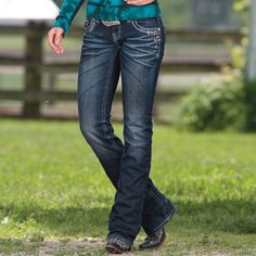 Center Stage Jeans By Rock And Roll Cowgirl
