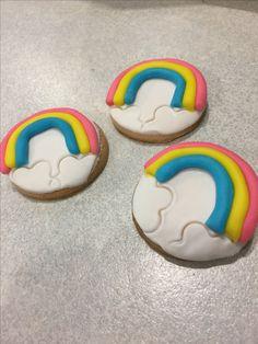 Rainbow cookies... Gokkusagi kurabiyesi