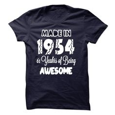 awesome  Made in 1954 - 61 Years Of Being Awesome