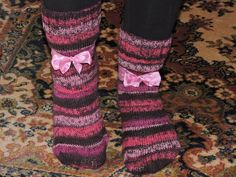 Socken-Sunday Serie: Diverse Modelle wurden gestrickt (Teil 7/8 - Pink-Lady) /// Socken-Sunday: different models were knitted .(Part 7/8 - Pink-Lady) (27.11.16)