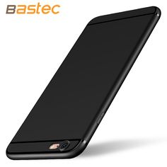 Bastec Phone Case for iPhone 6 6 Plus Soft TPU Silicon Anti-Scratch Anti-fingerprint Shockproof Phone Case for iPhone 6 Plus