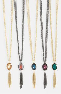 Nordstrom Long Tassel Necklace | Nordstrom