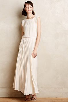 Icepleat Maxi Dress #anthropologie #anthrofave
