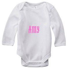 Personalised Baby onesie with print