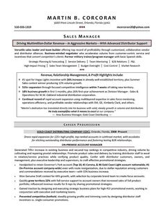 Business Resumes Samples  Sample Resumes  Sample Resumes