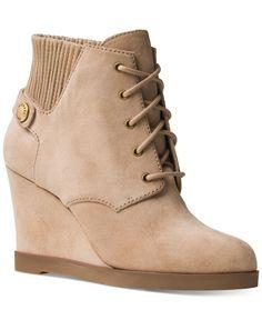MICHAEL Michael Kors Hawthorne Suede Fur Cuff Booties   Bloomingdale\u0027s    Shoes   Pinterest   Michael kors, Fur and Suede booties