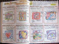 Fabric Art Journals - inspiration for journal planning