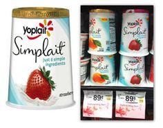 Yoplait Simplait Yogurt, As Low As $0.09 at Safeway!