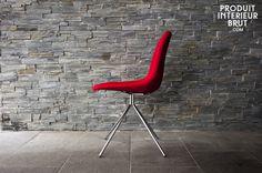 Stuhl Piramis Rot,Sessel und Stühle,Produit,intérieur,brut,produitinterieurbrut,Stuhl Piramis Rot und vieles mehr stühle von PIB, Ihrem Spezialisten für Möbel, Beleuchtung und Dekoration im Vintage Style .