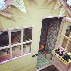 Bunny rabbit housing bunny shed for Henry and Lola shed inspiration Wendy house a hitch is not enough Peter rabbit shed interior Bunny Sheds, Rabbit Shed, Rabbit Hutch Plans, House Rabbit, Rabbit Hutches, Bunny Rabbit, Peter Rabbit Wallpaper, All About Rabbits, Bunny Room