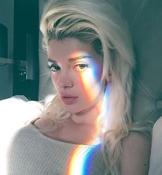 You change colors so often. It confuses me Rainbow Photography, Eye Photography, Aesthetic Photo, Aesthetic Pictures, Era Istrefi, Rainbow Light, Rainbow Prism, Rainbow Aesthetic, I Love Girls