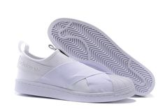 finest selection b1b01 d9419 Barato Adidas Originals Superstar Slip On Sneakers Zapatos Blanco Blanco