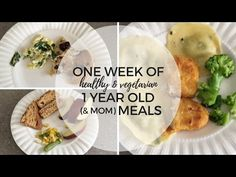 What I Fed My 1 Year Old Toddler in a Week - Life by Aileen