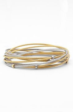 ALOR® Interlocked Cable Bracelet Set on shopstyle.com