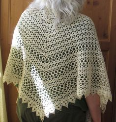 Seems Like Old Times shawl - Free Pattern download on Ravelry