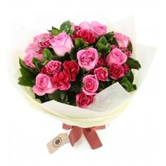roses and carnations bouquet, bouquets for mother's day,flowers hk, florists hong kong, flowers shop - Gift Flowers Hong Kong