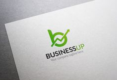 Business Up Logo by XpertgraphicD on Creative Market