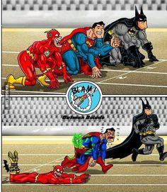 Batman being Batman