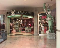 Warner Bros. Studio Store | 13 Stores You Will Never Shop At Again. I used to LOVE some of those stores; never heard of a couple of them though.