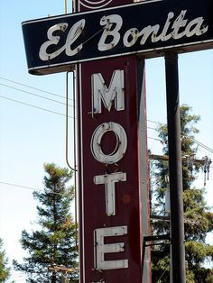 El Bonita Motel, St. Helena, CA - Where we are staying two nights