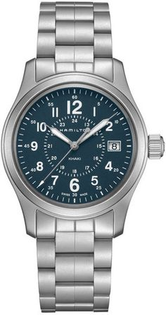 H68201143, 68201143, Hamilton khaki field quartz 38mm watch, mens