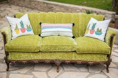 Vintage seating from a Cactus & Candy Summer Soiree on Kara's Party Ideas | KarasPartyIdeas.com